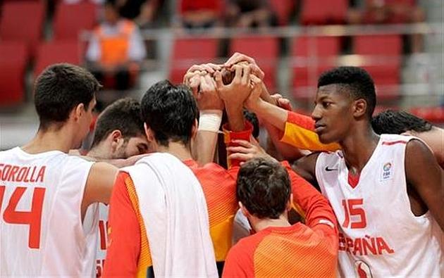 España concluye con un quinto puesto el Europeo sub18 masculino