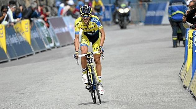 Alberto Contador en una imagen de 2014. AFP