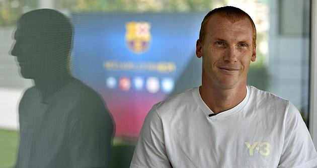 Mathieu, durante la entrevista concedida a AFP. (AFP)