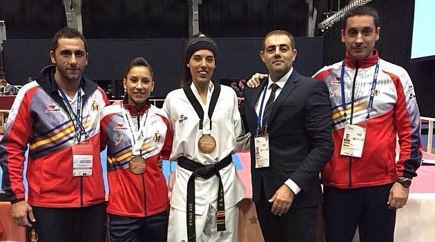Eva Calvo logra en -57 kilos el segundo oro para España