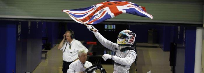 Hamilton, bicampeón del mundo de Fórmula 1