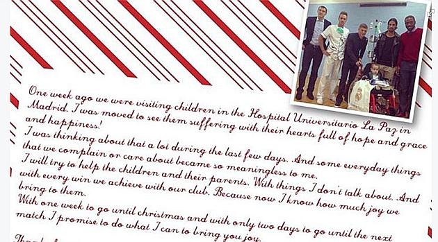 El conmovedor mensaje de Kroos a los niños de La Paz