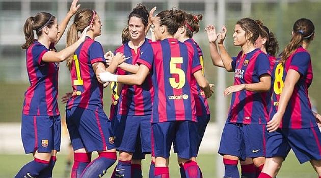El Barcelona consolida el liderato en Vallecas