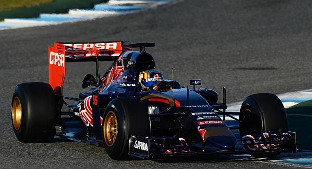 Carlos Sainz júnior se estrena en Jerez
