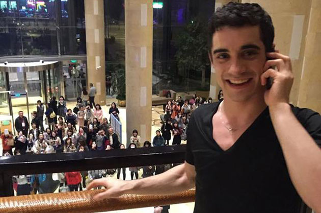 Javier Fernández: Me siento como una estrella del rock