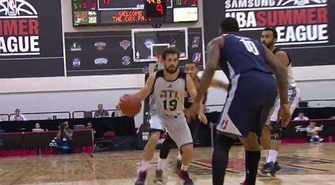 Tomás Bellas culmina su salto de la 1ª Nacional a la antesala de la NBA
