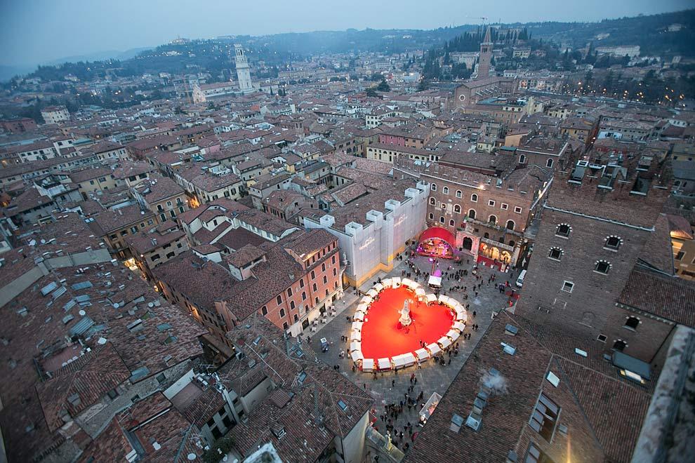 Verona meca de los enamorados  europa  Ocholeguas  elmundoes