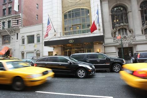 El hotel Sofitel, donde se alojaba Strauss-Kahn. | AFP