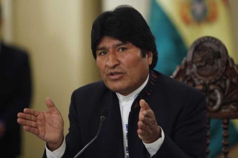 El presidente boliviano Evo Morales.   AP