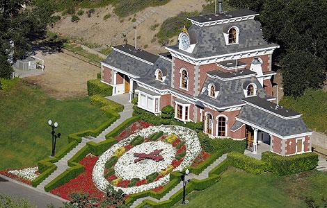 Una zona del rancho de 'Neverland', en California.   AP