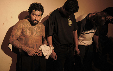 El salvadoreño Saúl Turcios, uno de los líderes de la Mara Salvatrucha, detenido en Nicaragua. | Efe