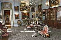 Interior del Palacio de Liria en 2006.   Q. F.