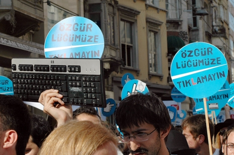 Manifestación contra la censura en Internet en julio 2010 | Ilya U. Topper