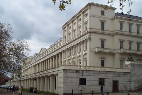 Sede en Londres de la Royal Society. | Kaihsu Tai