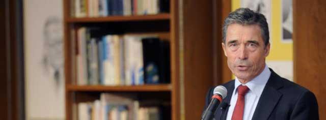 El secretario general de la Alianza Atlántica, Anders Fogh Rasmussen. | Ap