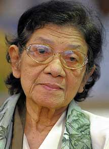 Ieng Thirith, ministra de Asuntos Sociales.| afp