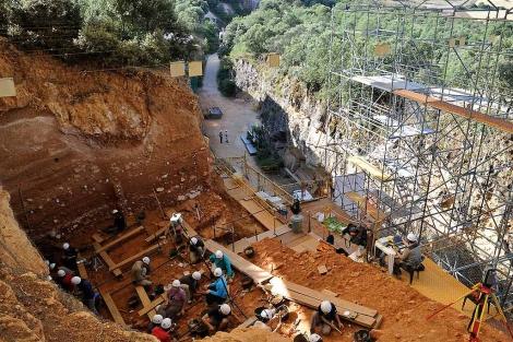 En Dolina no volverán al terreno del 'antecessor' de 800.000 años en una década. | I. L Murillo