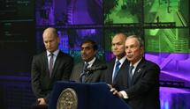 El alcalde de Nueva york en la presentación. | S.T.T.