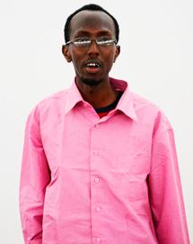 El periodista Abdiaziz Abdinur. | Afp