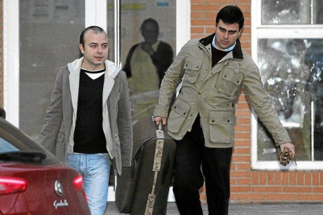 Ángel Carromero sale de la cárcel.