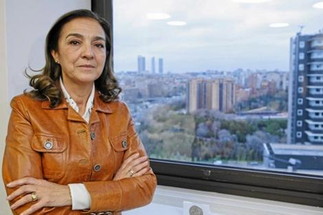 La secretaria de Estado de I+D, Carmen Vela, en su despacho. | Sergio Enríquez-Nistal