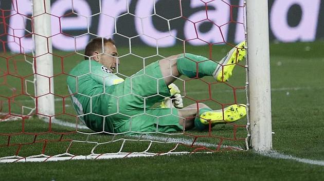 El Atlético ganó su primera tanda de penaltis en Europa