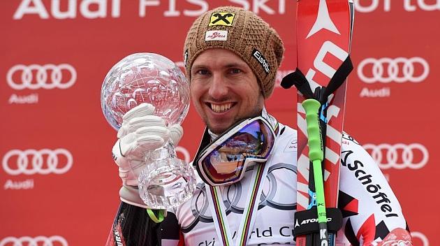 Hirscher hace historia al ganar su cuarto Globo de Oro consecutivo