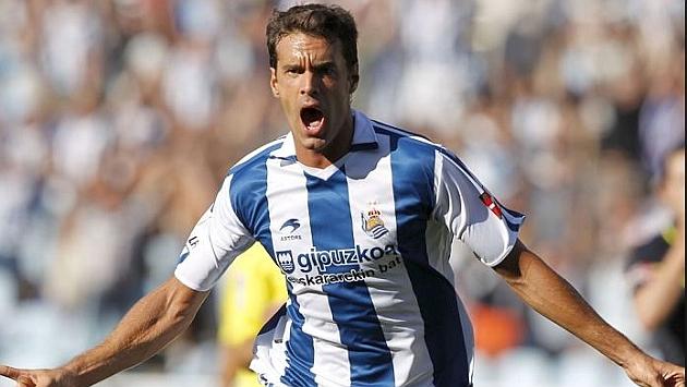 Xabi Prieto cumple doce años en la Real Sociedad