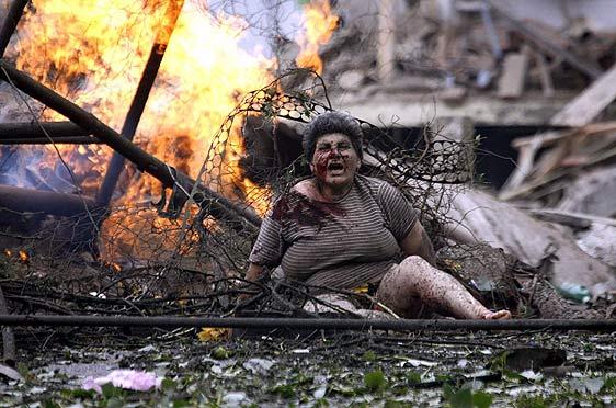 La barbarie rusa