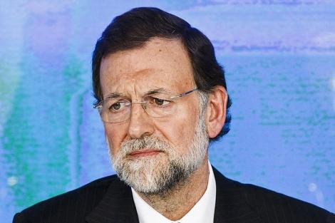 Mariano Rajoy atiende a los medios después de ganar las elecciones generales. | AP