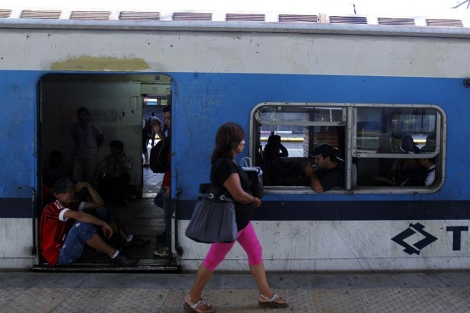 Un tren en Buenos Aires. | Reuters