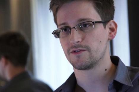 Edward Snowden. | Afp