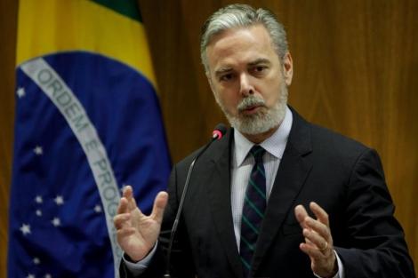 El ex ministro de Asuntos Exteriores de Brasil, Antonio Patriota, en una imagen de archivo.   Efe