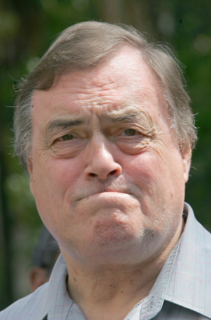 El ex político británico John Prescott. (Foto: AFP)