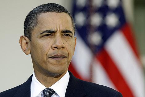 El presidente de EEUU, Barack Obama, en el jardín de la Casa Blanca. | AP
