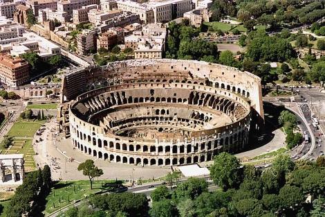 Foto aérea del Coliseo. | Reuters, ElMundo.es