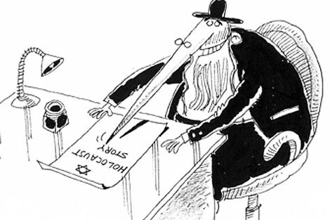 Una de las caricaturas de la web www.holocartoon.com.