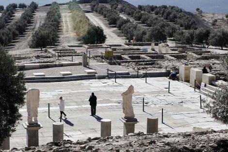 El yacimiento arqueológico de Torreparednes, ubicado en Baena. | Madero Cubero