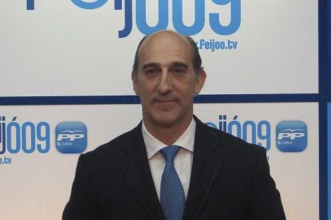 El ex diputado y ex concejal del PP por Oleiros, Pablo Cobián. | EL MUNDO