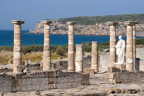Restos de la ciudad romana de Baelo Claudia.