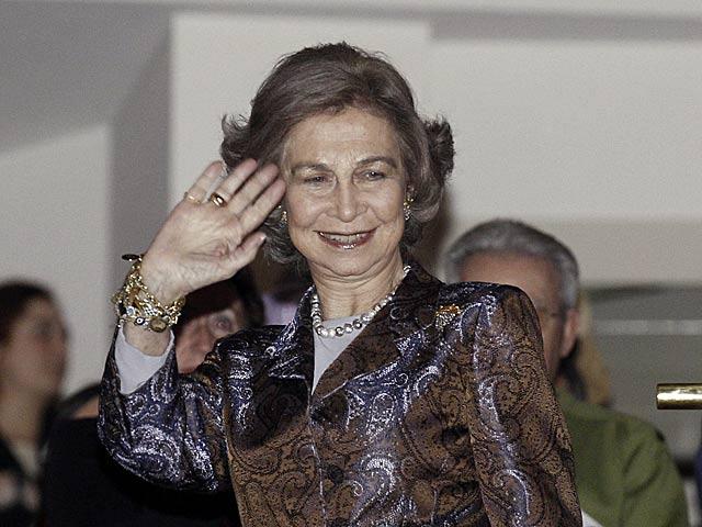 La Reina Sofía asistía a un concierto en el Auditorio Nacional en Madrid, el pasado viernes. | Ballesteros / Efe