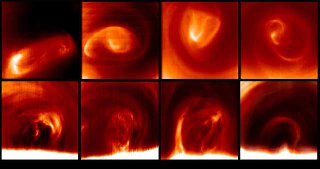El estudio se realizó con datos de la sonda 'Venus Express'.| CSIC
