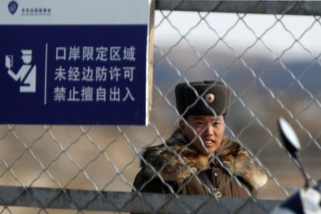 Un soldado en Corea del Norte.| Reuters