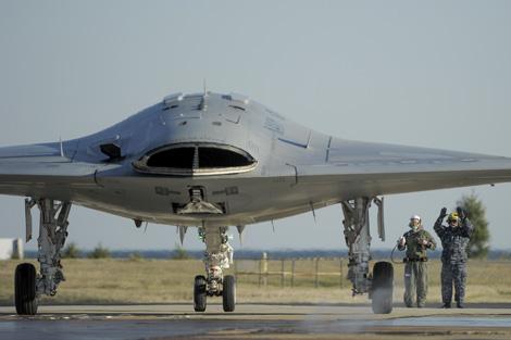 Nave autopilotada Phantom Rayand X-47B Nave | Northrop Grumman Corp.