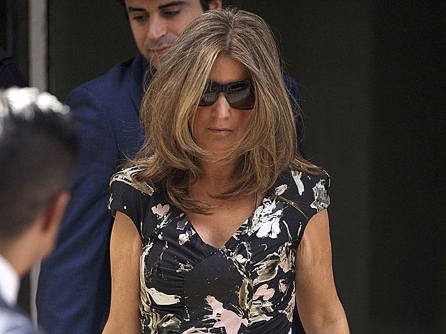 Rosalía Iglesias, esposa de Luis Bárcenas, saliendo de la Audiencia a primeros de agosto.| G. Arroyo