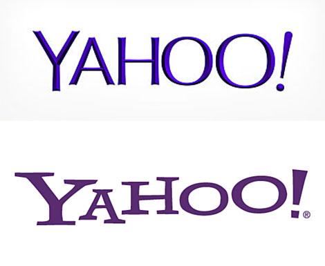 Comparación del logo nuevo con el anterior.