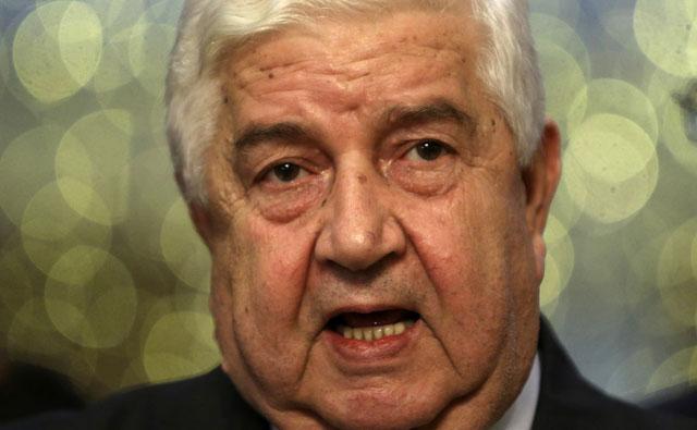 El ministro de Exteriores sirio, Walid Muallen. | Foto: Reuters