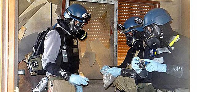 Los inspectores de la ONU recogen pruebas en Damasco. | Efe