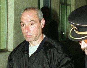 Santi Potros, cuando fue extraditado a España.