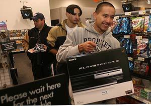 Venta de PS3 en El Paso, Texas. (Foto: AP)